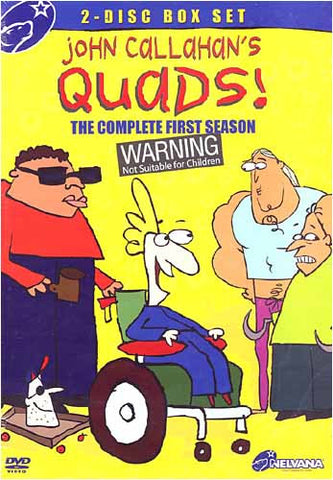 John Callahan's Quads - The Complete First Season (Boxset) DVD Movie