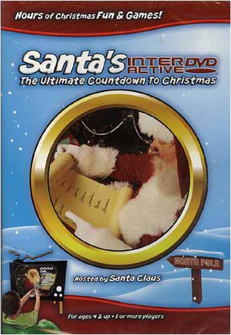 Santa's Interactive DVD - The Ultimate Countdown To Christmas DVD Movie