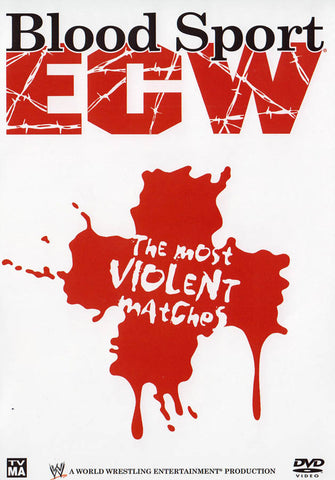 Blood sport ECW - The Most Violent Matches (WWE) DVD Movie