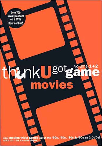 Think U Got Game Movies,Vol. 1+2 (Orange) DVD Movie