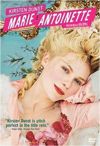 Marie Antoinette DVD Movie