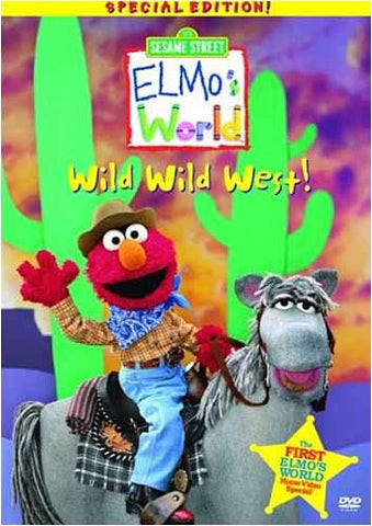 Wild Wild West - Elmo s World - (Sesame Street) DVD Movie