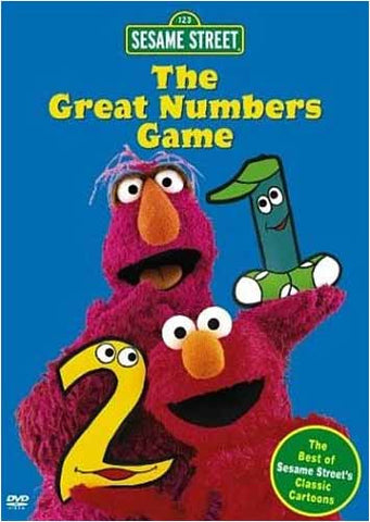 The Great Numbers Game - (Sesame Street) DVD Movie