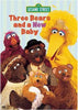 Three Bears and a New Baby - (Sesame Street) DVD Movie