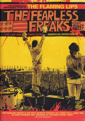 The Flaming Lips - The Fearless Freaks DVD Movie