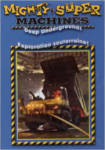 Mighty Machines - Deep Underground (Bilingual) DVD Movie