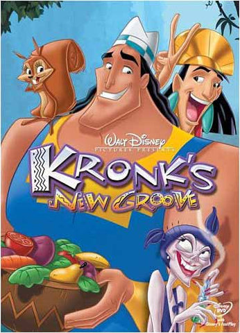 Kronk's New Groove DVD Movie