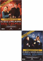 CSI - Miami/Crime Scene Investigation - Serial Killers/Sex Crimes (Special Edition)(2 Pack)