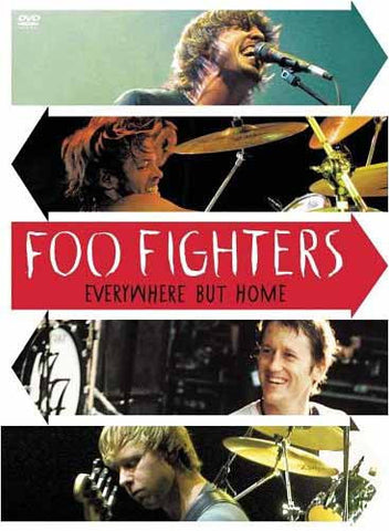 Foo Fighters - Everywhere But Home DVD Movie