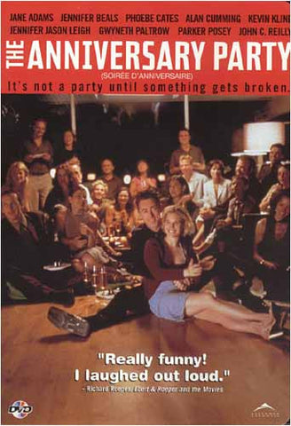 The Anniversary Party(bilingual) DVD Movie