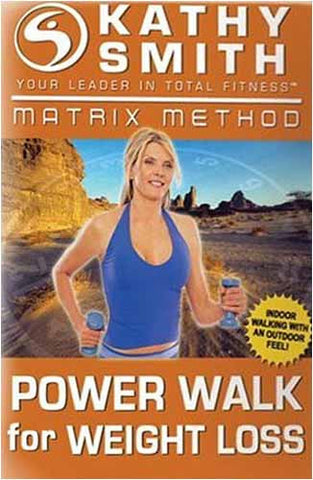 Kathy Smith - Matrix Method - Power Walk for Weight Loss (Goldhil) DVD Movie