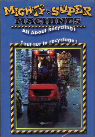 Mighty And Super Machines - All About Recycling! (Bilingual) DVD Movie