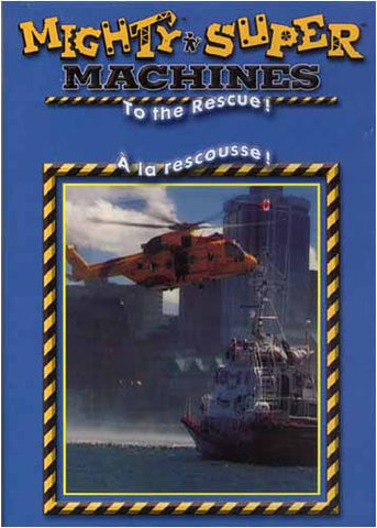 Mighty And Super Machines - To the Rescue! (Bilingual) DVD Movie