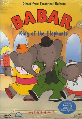 Babar - King Of The Elephants (Yellow Cover) DVD Movie