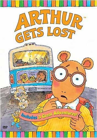 Arthur Gets Lost DVD Movie