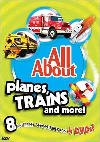 All About -Planes, Trains and More(Boxset) DVD Movie