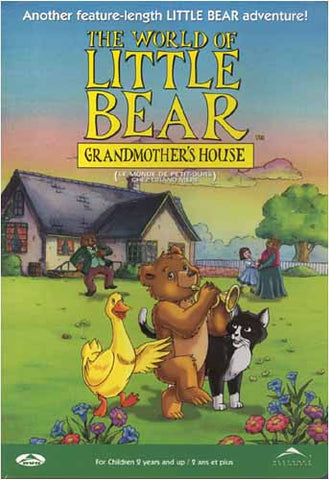 The World of Little Bear - Grandmother s House (Bilingual) DVD Movie