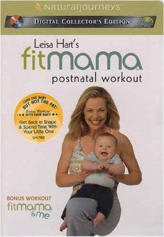 Leisa Hart's FitMama: Postnatal Workout / FitMama & Me DVD Movie