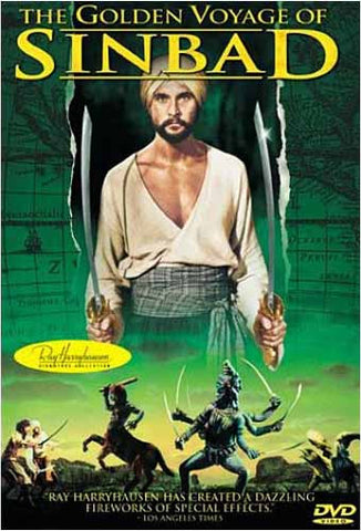The golden Voyage of Sinbad DVD Movie