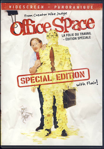 Office Space (Special Edition with Flair - Widescreen) (Bilingual) DVD Movie