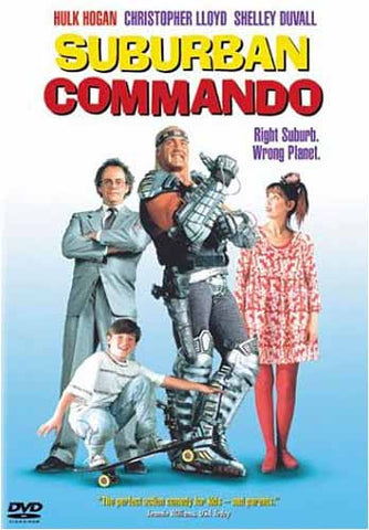 Suburban Commando DVD Movie