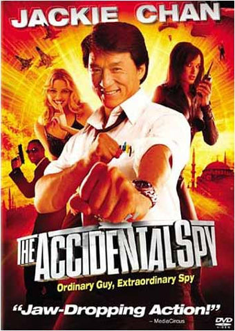 The Accidental Spy - Jackie Chan(Bilingual) DVD Movie