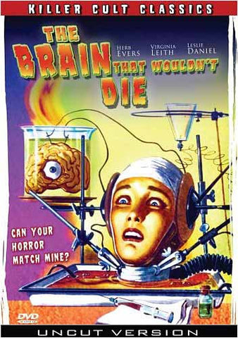 The Brain That Wouldn't Die DVD Movie