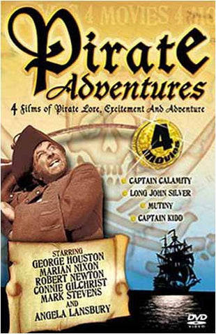 Pirate Adventures - Long John Silver s/Captain Calamity/Mutiny/Captain Kidd (Boxset) DVD Movie