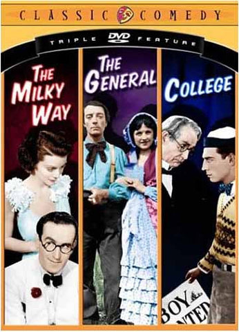 Classic Comedy Triple Feature - The Milky way/The General/College DVD Movie