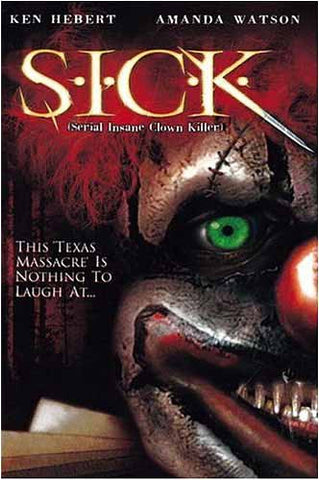 S.I.C.K. (Serial insane Clown Killer)(Bilingual) DVD Movie