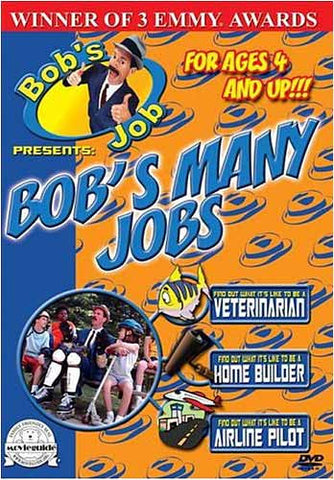 Bob's Job - Bob's Many Jobs DVD Movie