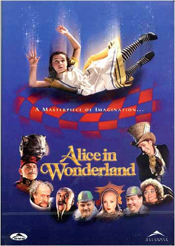 Alice in Wonderland - (Nick Willing) DVD Movie
