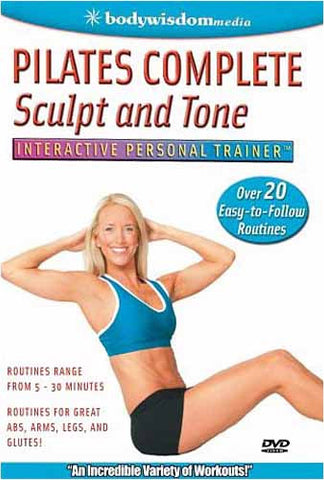 Pilates Complete Sculpt and Tone DVD Movie