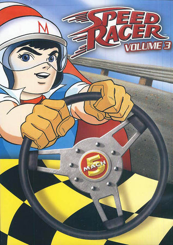 Speed Racer - Volume 3 Limited Collector's Edition DVD Movie