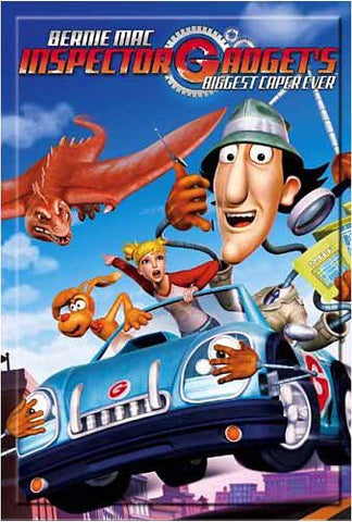 Inspector Gadget's -Biggest Caper Ever DVD Movie
