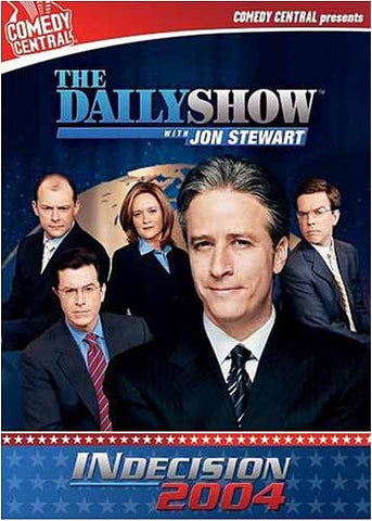 The DailyShow: Indecision 2004 - Comedy Central (Boxset) DVD Movie