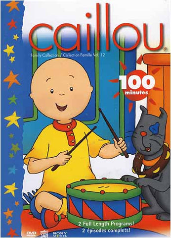 Caillou - Family Collection: Volume 12 on DVD MovieCaillou Family Collection