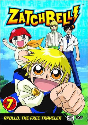 Zatch Bell! - Vol. 7 - Apollo, The Free Traveler DVD Movie