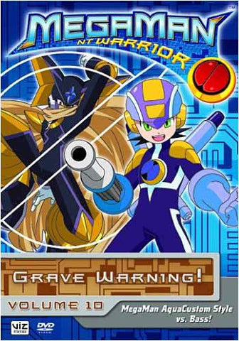 MegaMan NT Warrior - Grave Warning!, Vol. 10 DVD Movie