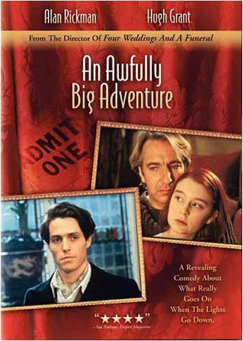 An Awfully Big Adventure(Bilingual) DVD Movie