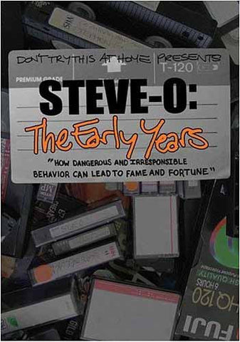 Steve-O, The Early Years DVD Movie