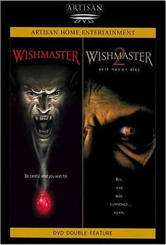 Wishmaster / Wishmaster 2 - Evil Never Dies (Double Feature) DVD Movie