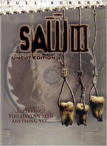 Saw III (Uncut Edition) (Fullscreen) DVD Movie