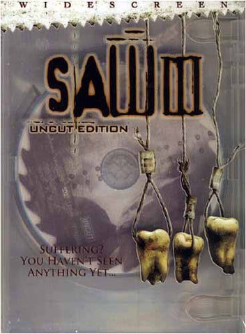Saw III (Uncut Edition) DVD Movie