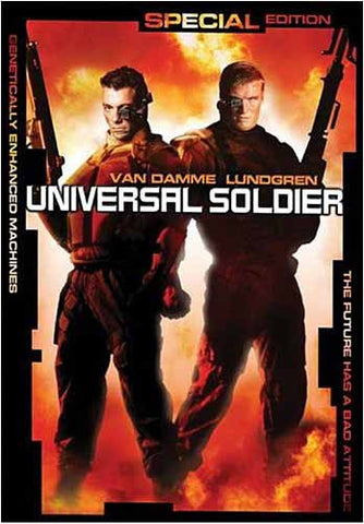 Universal Soldier (Special Edition)(Bilingual) DVD Movie