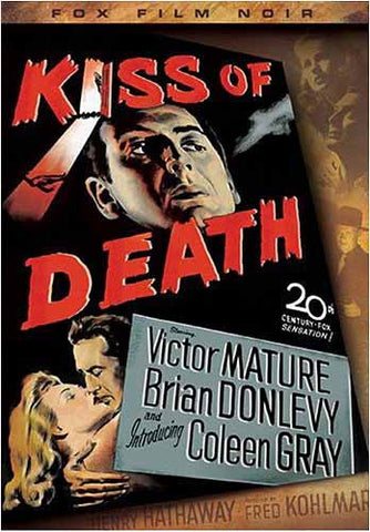 Kiss of Death (Fox Film Noir) DVD Movie