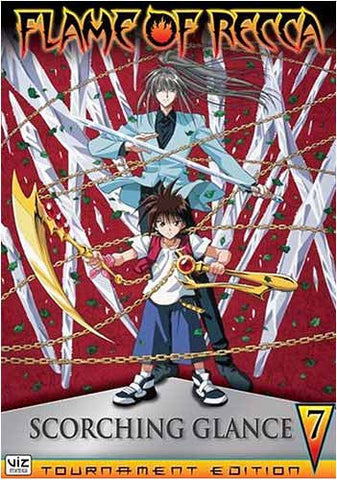 Flame of Recca - Vol. 7 - Scorching Glance DVD Movie