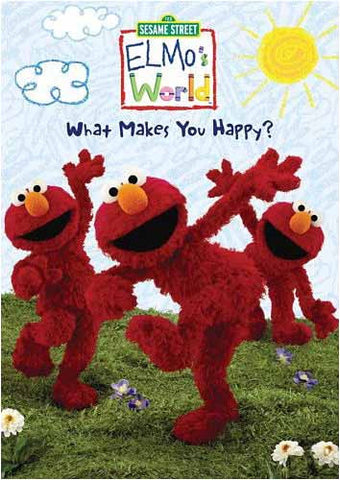 Elmo s World - What Makes You Happy (Sesame Street) DVD Movie