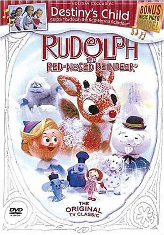 Rudolph the Red-Nosed Reindeer (Bonus Destiny's Child Music Video) DVD Movie