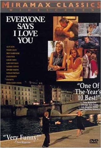 Everyone Says I Love You DVD Movie